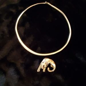 Jewelry - Omega necklace and slide